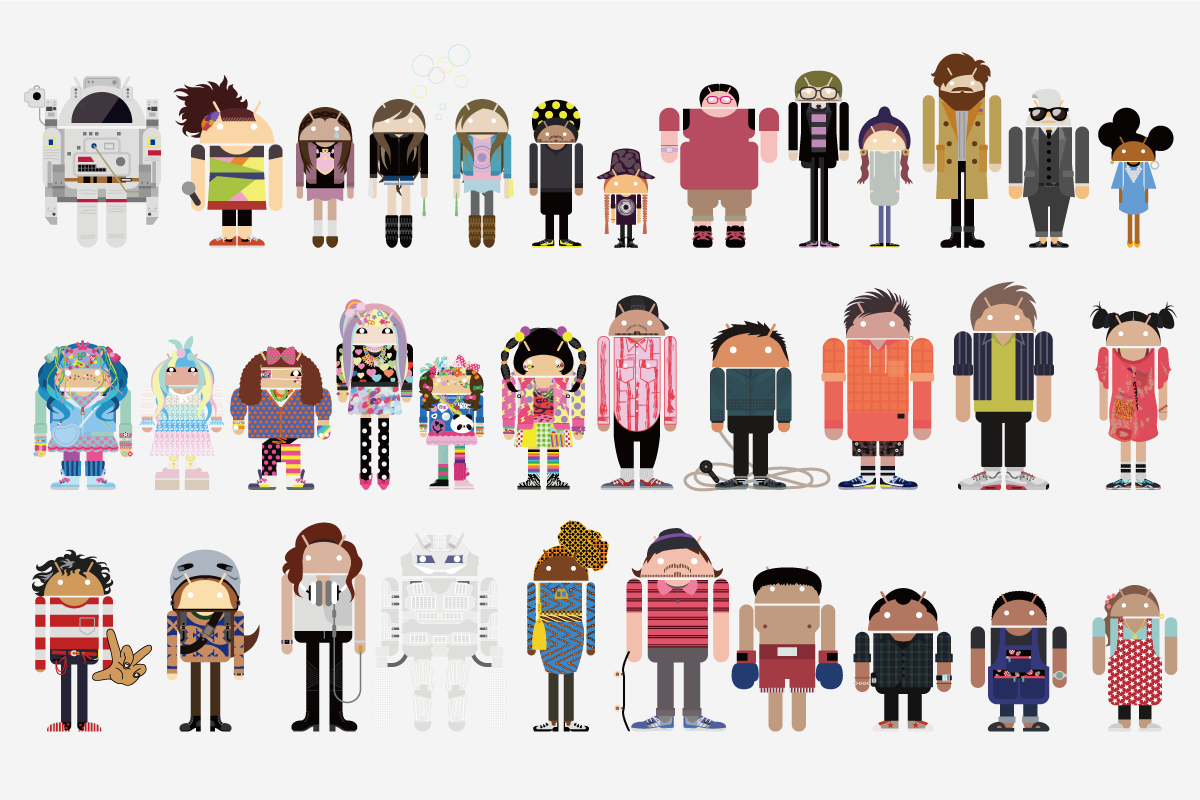 android characters 1